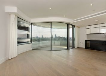 Thumbnail 1 bed flat to rent in The Corniche, Tower One, Albert Embankment, London