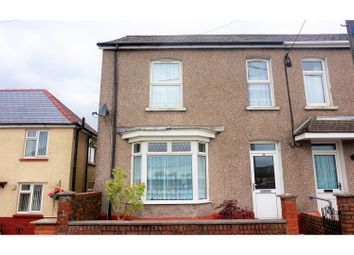 Thumbnail 3 bed semi-detached house for sale in Brynawelon, Colbren