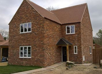 Thumbnail 4 bed detached house for sale in Pentney Lane, Pentney, King's Lynn