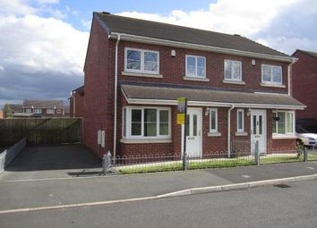 Thumbnail 3 bed semi-detached house to rent in Lysander Drive, Padgate, Warrington, Cheshire