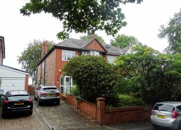 Thumbnail 4 bed semi-detached house for sale in Sedgley Park Road, Prestwich, Prestwich Manchester