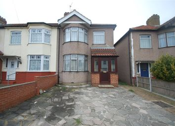 Thumbnail 3 bed end terrace house for sale in Northdown Road, Hornchurch