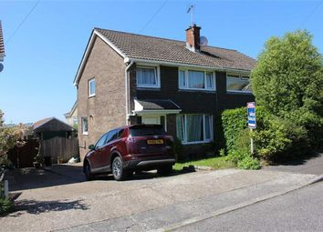 Thumbnail 3 bed semi-detached house for sale in Hendre, Dunvant, Swansea