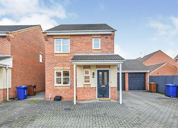 Thumbnail 3 bed link-detached house for sale in Castilla Place, Burton-On-Trent, Staffordshire