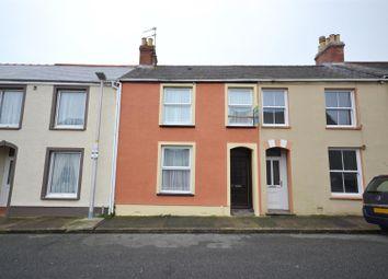 3 bed terraced house for sale in Wellington Street, Pembroke Dock SA72