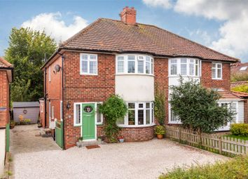 Thumbnail 3 bed semi-detached house for sale in Lidgett Grove, York, North Yorkshire