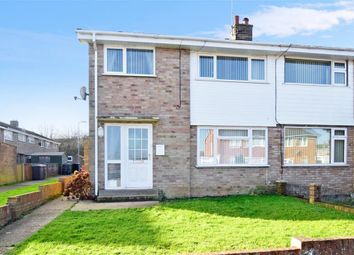 Thumbnail 3 bed end terrace house for sale in Hill Crescent, Aylesham, Canterbury, Kent