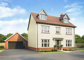 "Thumbnail 5 bed detached house for sale in ""Southminster"" at Hatfield Road, Witham"