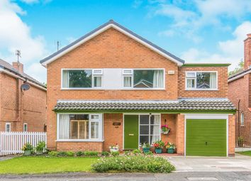 Thumbnail 5 bed detached house for sale in Linksway, Gatley, Cheadle