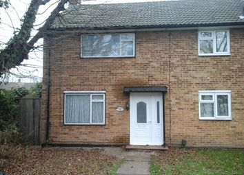 Thumbnail 2 bed end terrace house to rent in Cunningham Road, Cheshunt