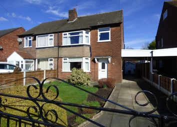 Thumbnail 3 bed semi-detached house for sale in Curzon Green, Offerton, Stockport