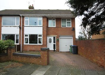 Thumbnail 4 bed semi-detached house for sale in Ridgeway Drive, Thornton-Cleveleys