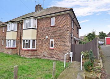 Thumbnail 1 bedroom maisonette for sale in Winchester Cresent, Gravesend, Kent