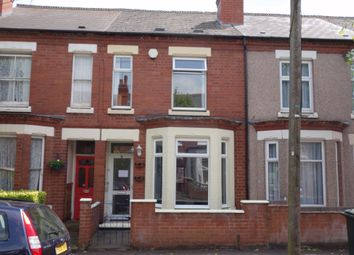 Thumbnail 2 bed terraced house to rent in Hugh Road, Stoke, Coventry