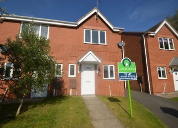 Thumbnail 2 bed semi-detached house to rent in Wentworth Way, Lincoln