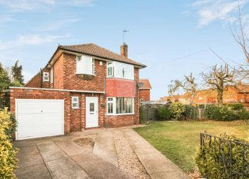 Thumbnail 3 bed detached house for sale in Chestnut Road, North Hykeham, Lincoln