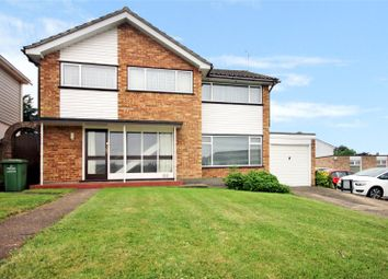 Thumbnail 4 bed detached house for sale in Long Meadow Drive, Wickford