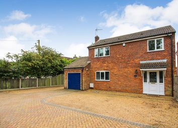 Thumbnail 3 bed detached house for sale in Post Office Road, Lingwood, Norwich