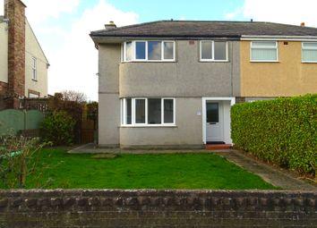Thumbnail 3 bed semi-detached house for sale in Maes Llwyn, Amlwch, Ynys Mon
