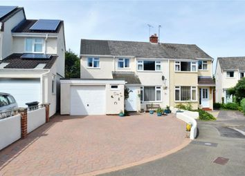 Thumbnail 4 bed semi-detached house for sale in Statham Close, Taunton
