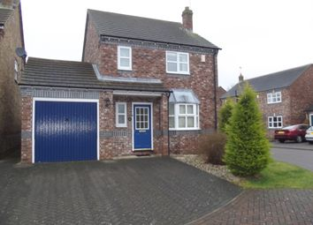 Thumbnail 3 bed detached house to rent in Apperson Court, Pocklington