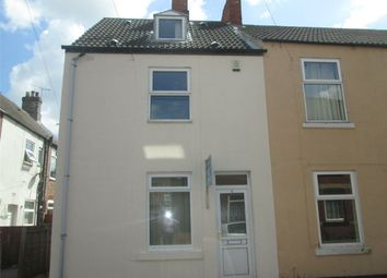 Thumbnail 3 bed end terrace house to rent in Frederick Street, Worksop, Nottinghamshire