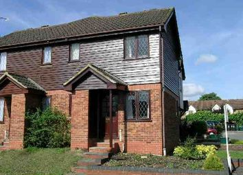 Thumbnail 1 bed semi-detached house to rent in Aspen Park Drive, Watford