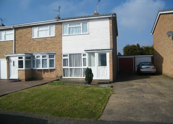 Thumbnail 2 bed semi-detached house to rent in Vermeer Crescent, Shoeburyness, Southend-On-Sea