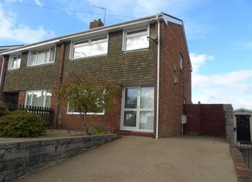 Thumbnail 3 bed semi-detached house for sale in Arwelfa, Morriston, Swansea
