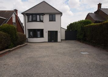 Thumbnail 3 bed detached house for sale in Hough Hill, Swannington, Coalville