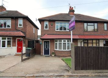Thumbnail 2 bed semi-detached house for sale in School Lane, Beeston