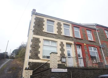 Thumbnail 2 bedroom end terrace house for sale in Springfield Terrace, Llanhilleth, Abertillery