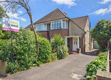 Thumbnail 2 bed semi-detached house for sale in Glenville Road, Rustington, West Sussex