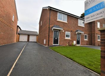 Thumbnail 2 bed semi-detached house for sale in Hallbottom Street, Hyde
