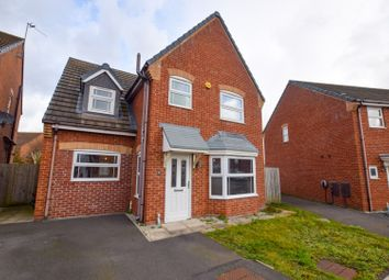Thumbnail 4 bed detached house for sale in Blackstairs Road, Rivacre, Ellesmere Port