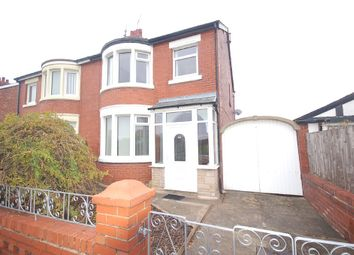 Thumbnail 3 bed semi-detached house for sale in Arnold Avenue, Blackpool