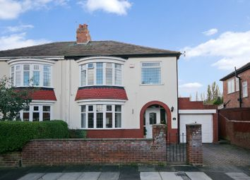 Thumbnail 3 bed semi-detached house to rent in Kilburn Road, Stockton-On-Tees