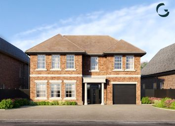Thumbnail 5 bed detached house for sale in Newberries Avenue, Radlett