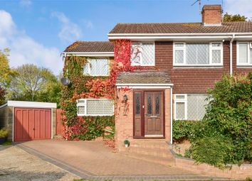 Thumbnail 3 bed semi-detached house for sale in Biddenden Close, Bearsted, Maidstone, Kent