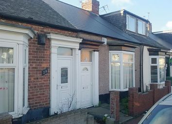 Thumbnail 2 bed terraced bungalow for sale in Chester Terrace North, Sunderland