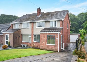 Thumbnail 3 bed semi-detached house for sale in St Davids Way, Caerphilly