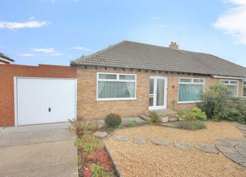 Thumbnail 2 bed semi-detached bungalow for sale in Park Lane, Easington, Saltburn-By-The-Sea
