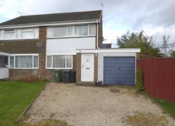 Thumbnail 3 bed semi-detached house for sale in Deansfield, Cricklade, Swindon