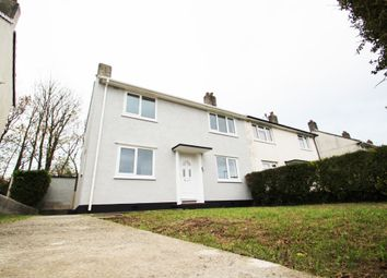Thumbnail 3 bed end terrace house for sale in Ham Drive, Plymouth