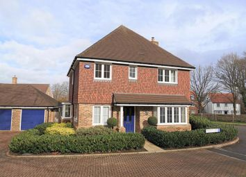 Thumbnail 4 bed detached house for sale in Kingscote Way, East Grinstead, West Sussex