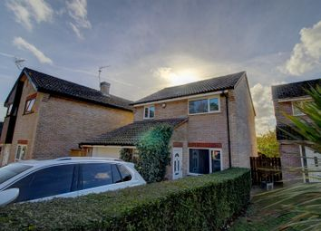 Thumbnail 3 bed detached house for sale in Campion Road, Thetford