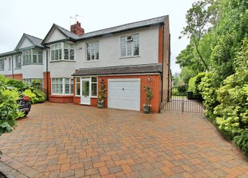 Thumbnail 5 bedroom semi-detached house for sale in Nursery Road, Prestwich, Manchester
