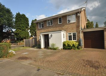 Thumbnail 4 bed detached house for sale in Curzon Drive, Church Crookham, Fleet