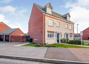 Thumbnail 4 bed semi-detached house for sale in Whittle Road, Holdingham, Sleaford