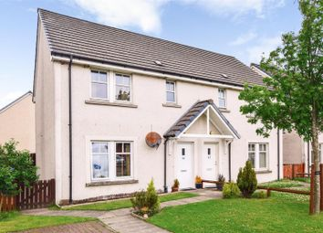 Thumbnail 2 bed semi-detached house for sale in Abercairney Place, Blackford, Auchterarder